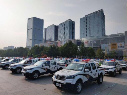 护航河北园博会 124辆风骏5交付邯郸交警支队