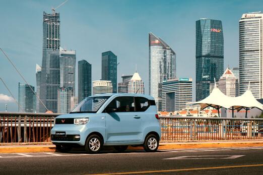 《中国小型纯电动乘用车出行大数据报告》五菱市占率达51%跃升行业龙头!